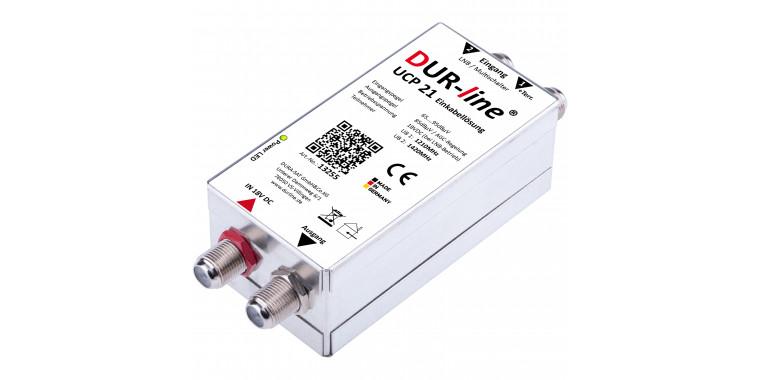 Unicable Stacker UCP 21 (EN50494) 2 fach Einkabellösung für Twin Tuner