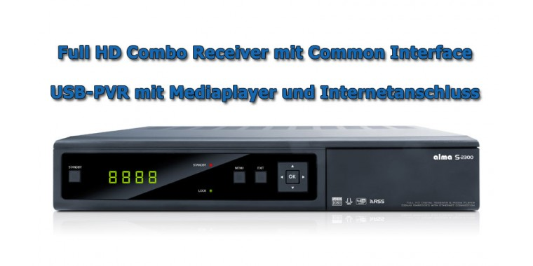 Alma S-2300 ORF-Paket Combo FullHD CICX