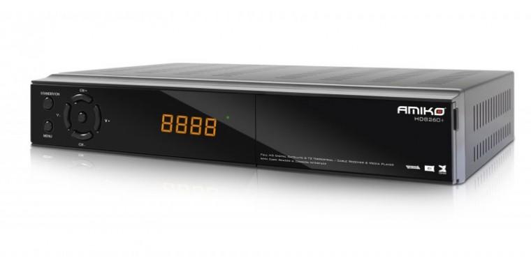 Amiko HD8260 Plus CICXE Tripple Tuner
