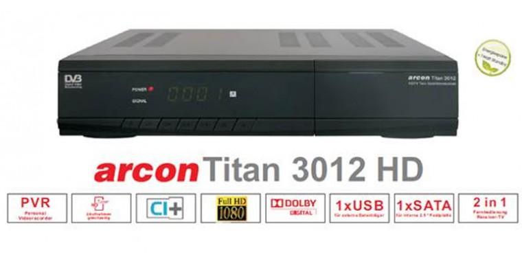 Arcon TITAN Full-HD CI+ 500GB ORF Paket Twin Tuner