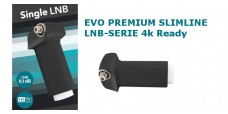 Single LNB EVO SlimeLine 0,1dB Premium