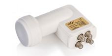 Quad LNB 0,1dB 60dB-Verstärkung Full-HD