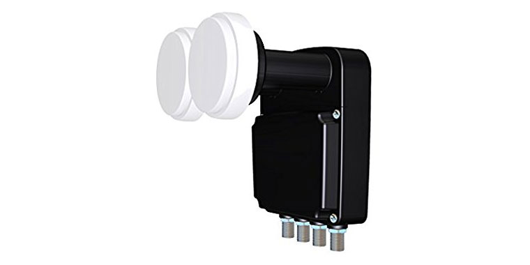Clarke-Tech SET-One TX-114 Monoblock Quad LNB 0,3dB UHD