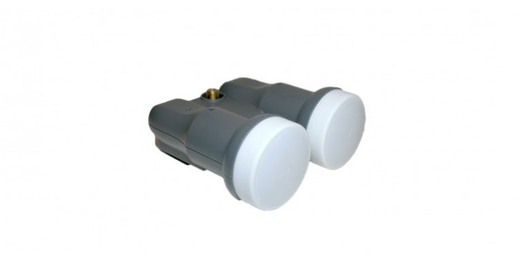 Clarke-Tech Monoblock Single LNB 0,3 dB Full-HD