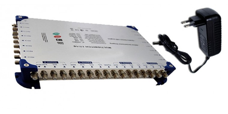 Multischalter MS 17/16 Externes Netzteil Kaskadierbar