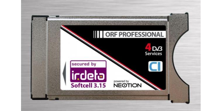 Neotion Irdeto Professional CI/CAM 6 Kanäle (ORF)
