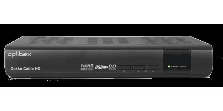 Optibox GEKKO Full-HD DVB-C Enigma2 DualBoot
