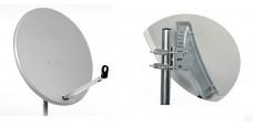 Satmedia Click/Clack Profi-Line 100cm Hellgrau