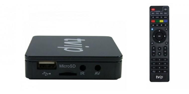 Tvip S-Box 410 (Iptv Mag)