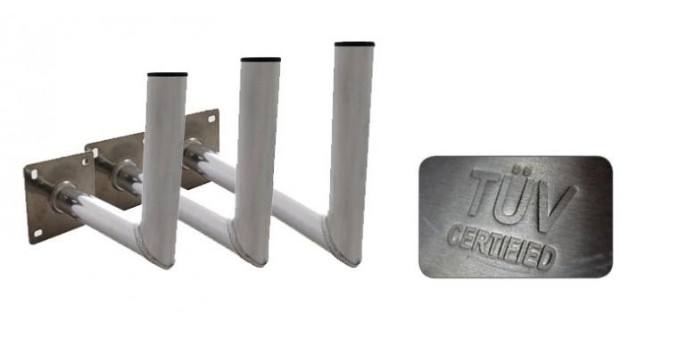 Wandhalter 60cm HQ 50mm Stahl verzinkt