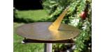 Sundial Horizon D40 unique location produces brass