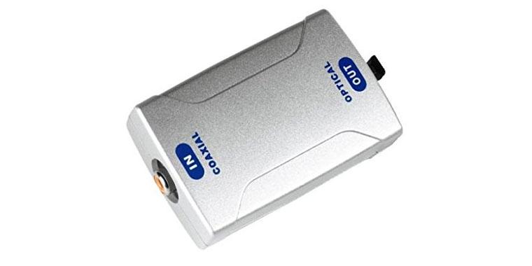 Koaxial zu Optisch Audio Signalwandler