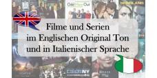 Hotel Kopfstelle Englische+Italienische Filme/Serien Erweiterung