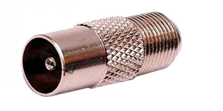 F-Adapter auf Kabel TV Stecker