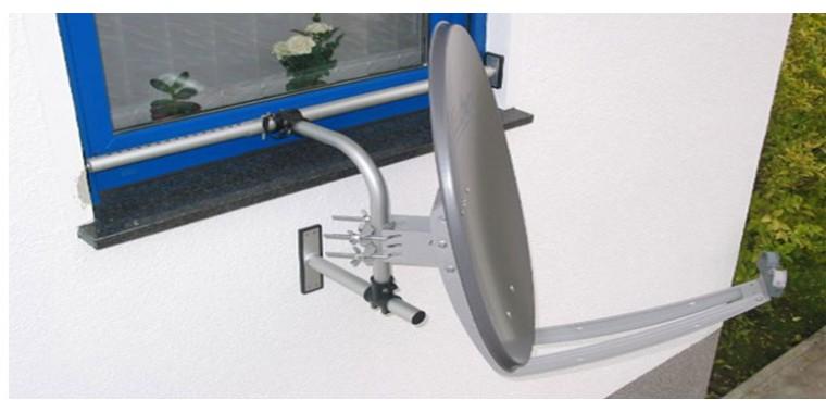 Easy Mount DIY 1 SAT Fensterhalterung