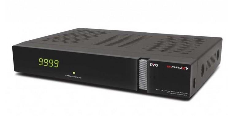 EVO Enfinity X1+ Linux E2 Sat mit CI-Interface und Kartenleser