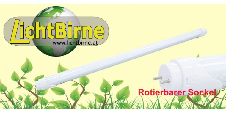 LichtBirne LM2500 C26 Watt T8 Tube 150cm rotierbar