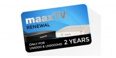 MaaxTV Renewal Card, 2 years Subscription