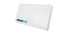 Megasat Profi Line Quad Flachantenne UHD (Tausch LNB)