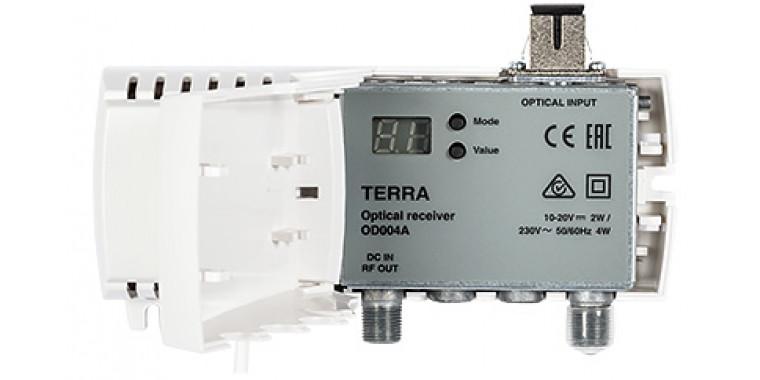 Terra OD004A Optical Node FTTH Receiver für DVB-C/T & 1x SAT IF (DVB-S2)