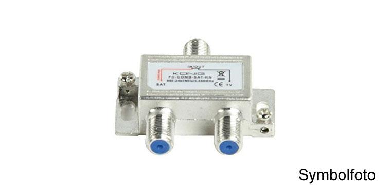SAT DVB-T/C Combiner+Trenner