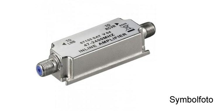 Profi Inline SA003 SAT 950-2400MHz 17-22dB Verstärker