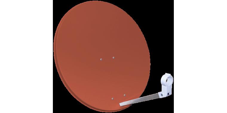 Sat-Line Sat Antenne 60cm Ziegelrot