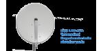 Satmedia Click/Clack Profi MESH 80cm Hellgrau