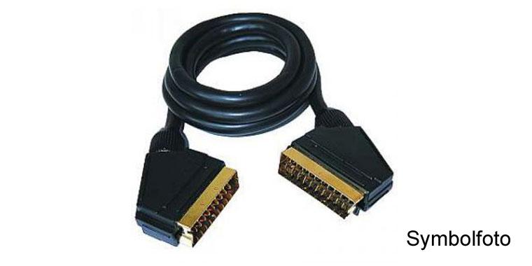 SCART-Kabel 5m HQ