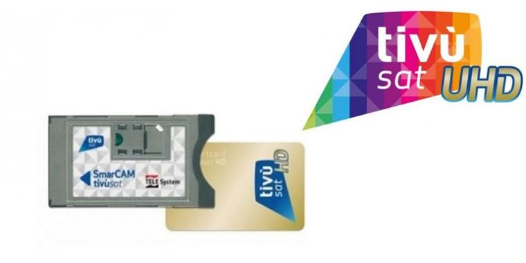 TivuSat Modul incl.TivuSat Smartcard UHD 4k