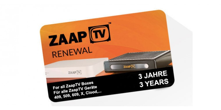 ZaapTV Renewal Code, 3 Years Arabic