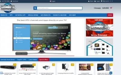 Neuer Shop online